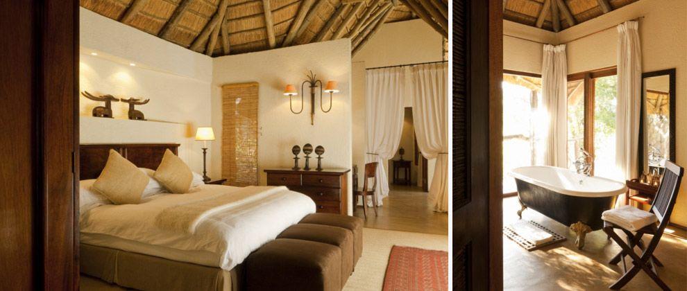 Bedroom at Dulini Lodge