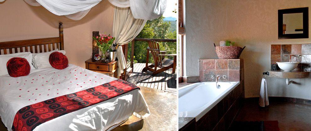 Bedroom at Manyatta Rock Camp, Kwa Madwala
