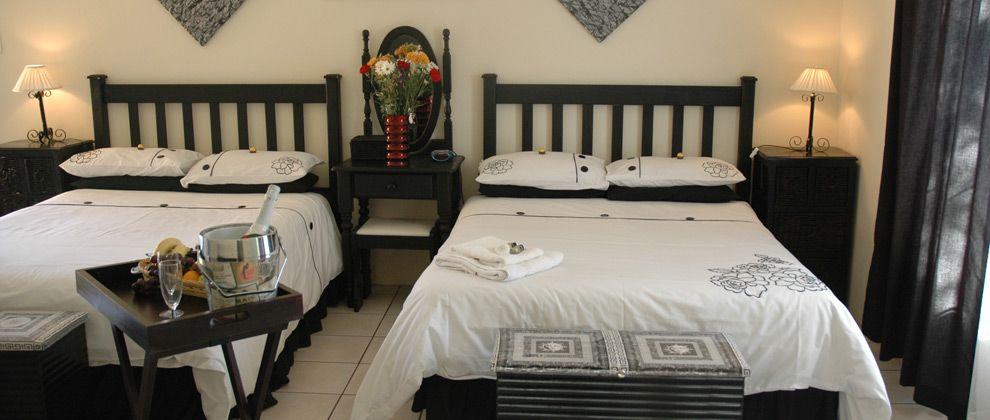 Bedroom at Linga Longa guest house