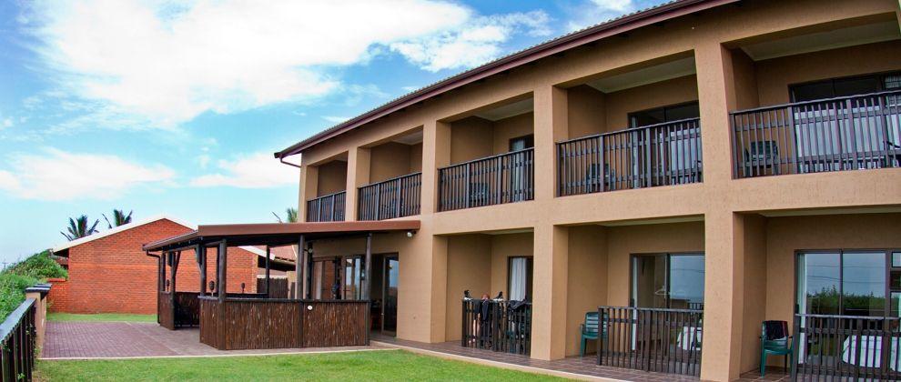 Exterior of ScubaAddicts Lodge