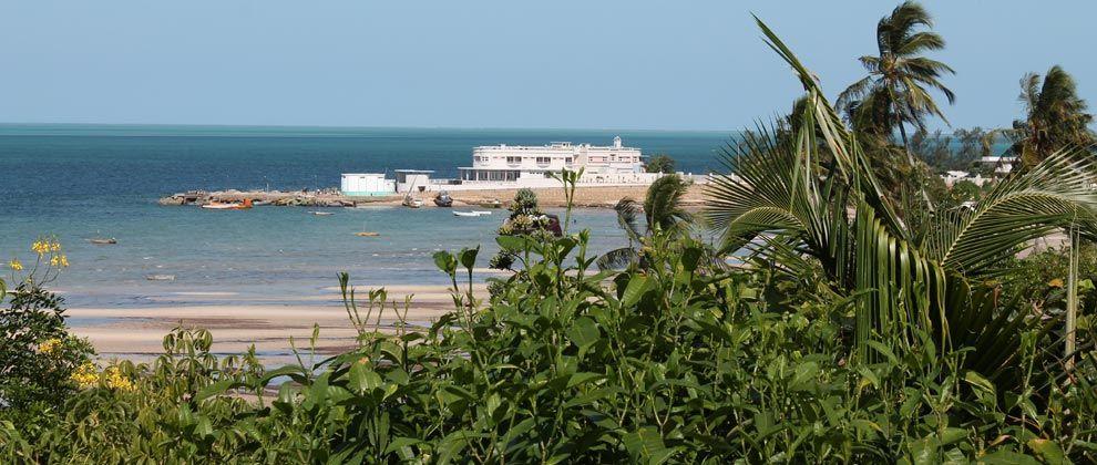 View of Vilanculos port