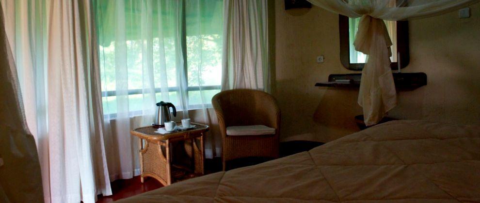 Bedroom at Chitengo Camp, Gorongosa