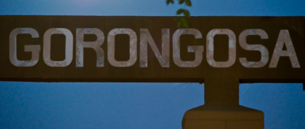 Gorongosa sign