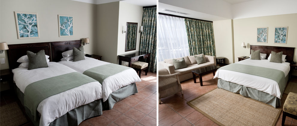 Bedrooms at Hotel Cardoso