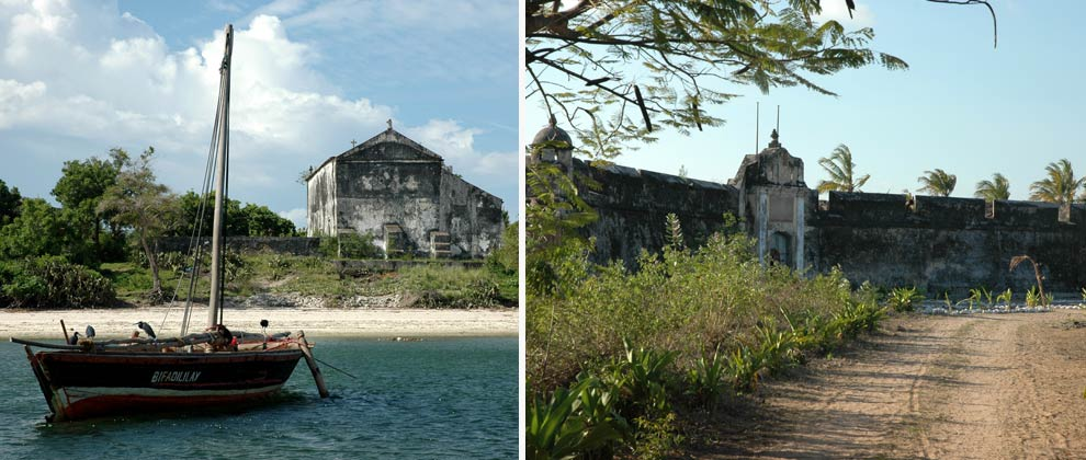 Old fort on Ibo Island
