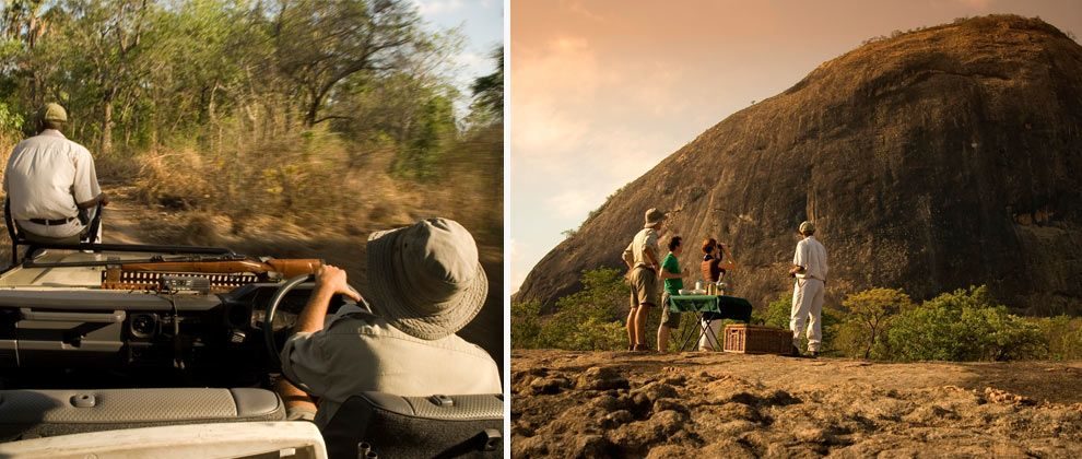 Safari in Niassa Reserve with Lugenda Wilderness Camp