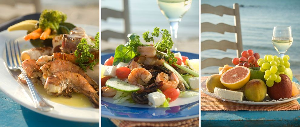 Food at Medjumbe Private Island