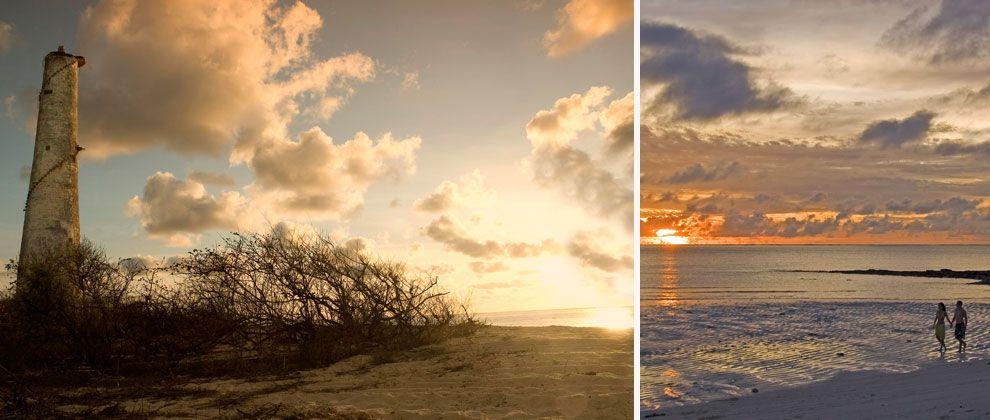Romantic walks at Medjumbe Private Island