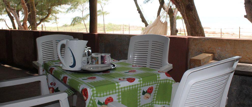 Breakfast area at Nordins Lodge