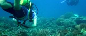 Scuba diving at Nuarro Lodge