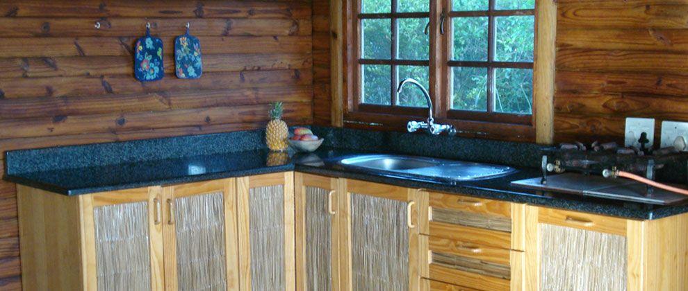 Kitchen area at Paradise Dunes