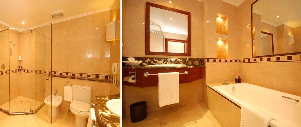 Bathroom at Pemba Beach Hotel and Spa