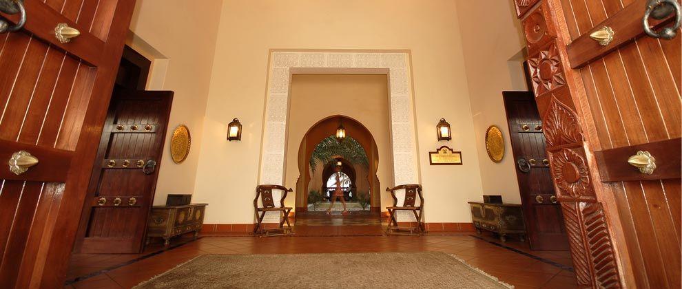 Entrance at Pemba Beach Hotel and Spa