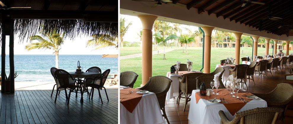 Restaurant at Pemba Beach Hotel and Spa