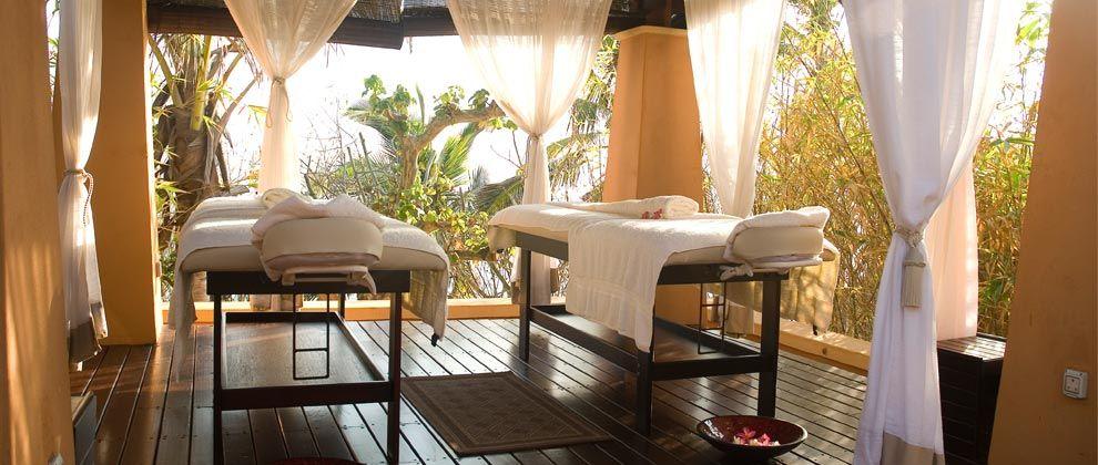 Spa rooms at Pemba Beach Hotel and Spa