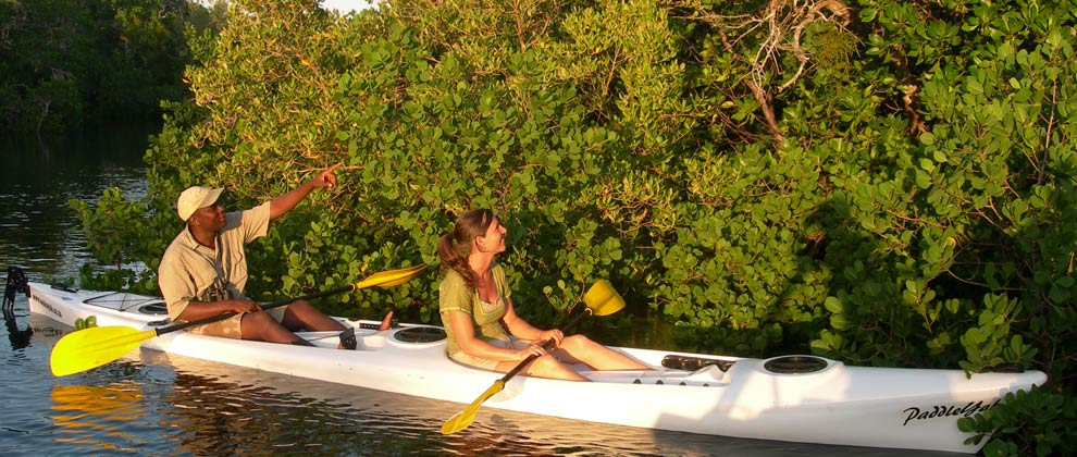 Kayaking in the Quirimbas Archipelago