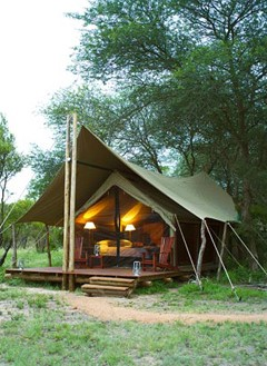tented camp in Kruger national park