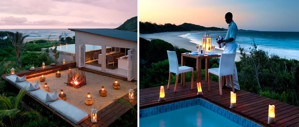 Romantic dining at White Pearl