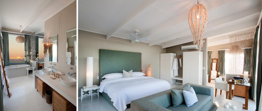 Bedroom at White Pearl Resort