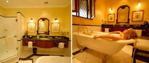 Bathroom at the Stanley and Livingstone