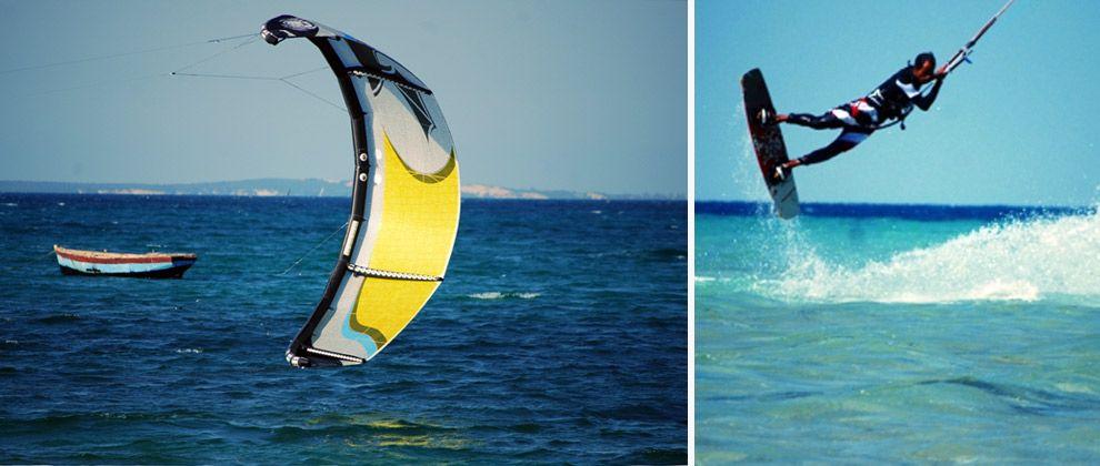 Kitesurfing on the Bazaruto Archipelago