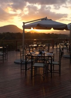 Deck at Pestana Kruger Lodge