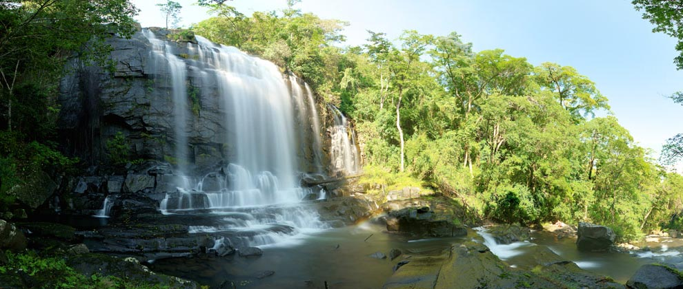 Waterfall at Gorongosa National Park