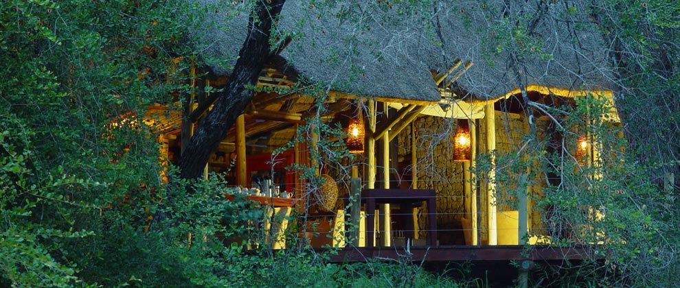 Exterior of Rhino Post lodge