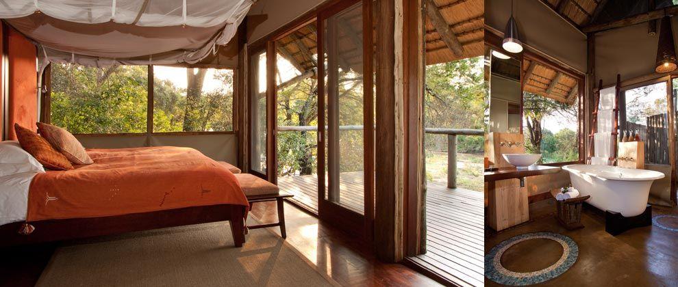 Bedroom at Rhino Post Lodge