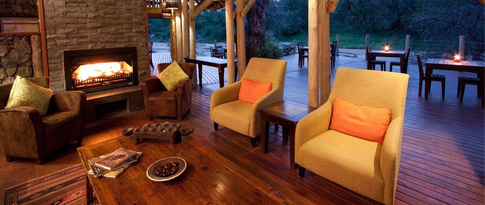 Lounge at Rhino Post lodge
