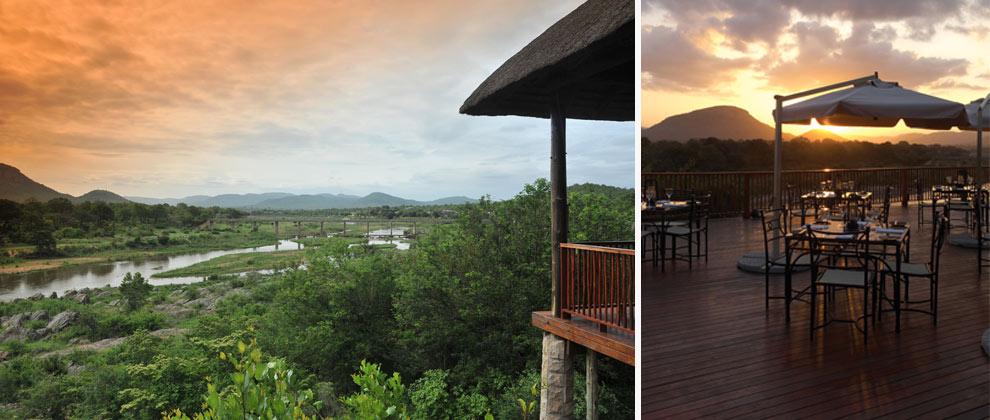 Stunning view from Pestana lodge deck