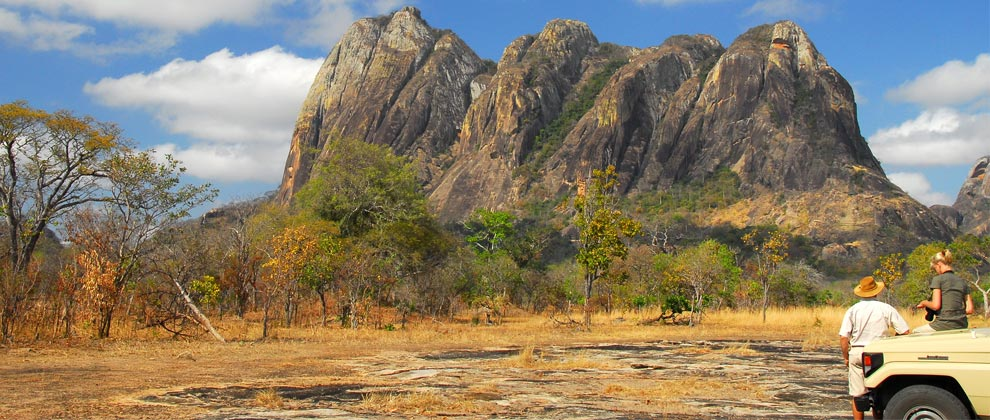 Mountain view in Niassa Reserve
