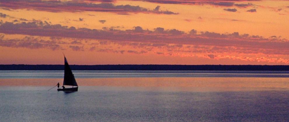 Sunset on Bazaruto Archipelago