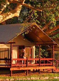 Accommodation at Lugenda Wilderness Camp