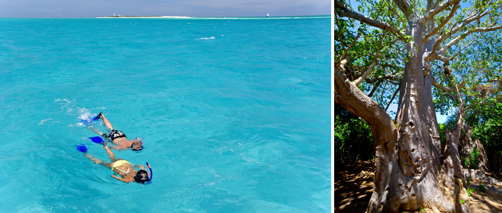 Snorkelling in the Quirimbas Archipelago
