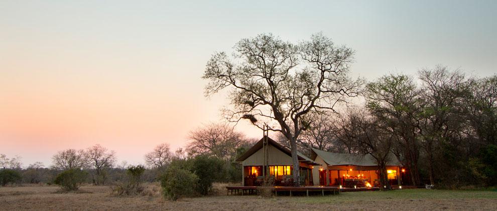 Rhino post safari camp