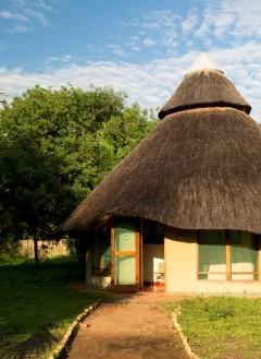 Accommodation at Chitengo Camp, Gorongosa National Park