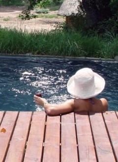 Swimming pool at Isibhindi Lodge