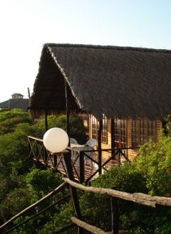 Exterior of house at Paradise Dun e