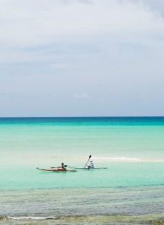 Kayaking at Vamizi Private Island